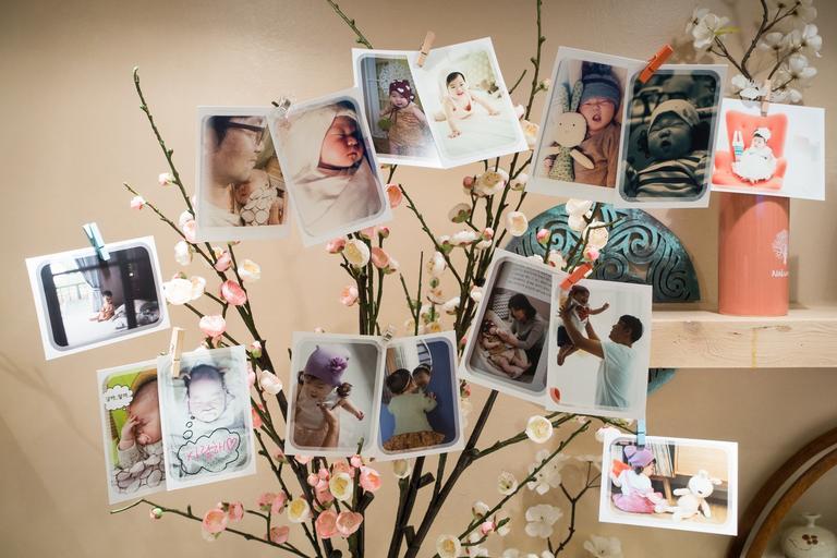 dekorace fotografií