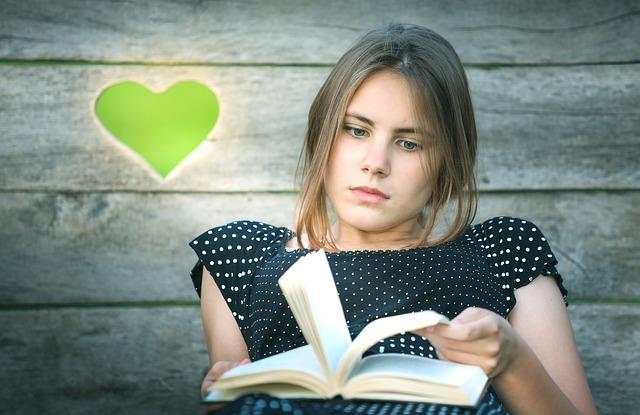 kniha děvče srdce